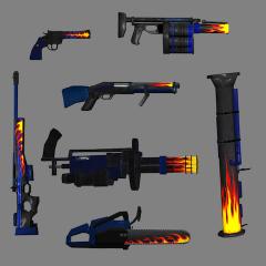 Flame Hudguns