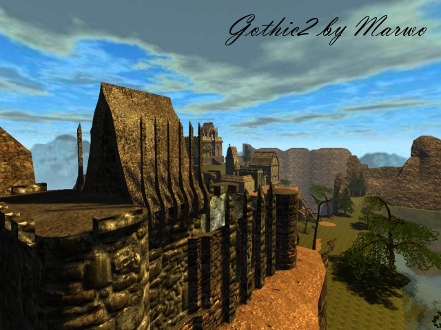 New Gothic map! Gothic2 ! (UPDATED)