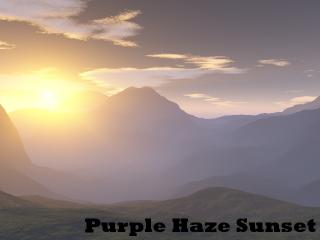 Purple Haze Sunset