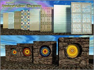 Stained Glass Textures Pack by PainKillAH