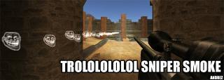 Troll sniper trail
