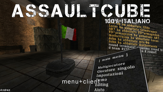 AssaultCube 1.2.0.1: 100% ITALIANO