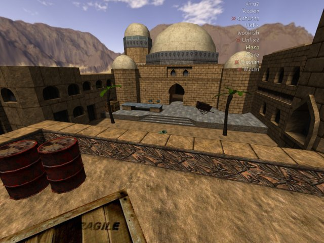 Dust2 - Capture and ctf map