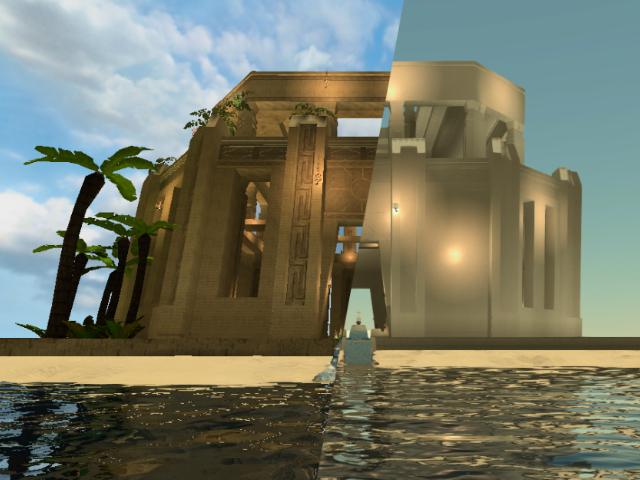 Tesseract Temple