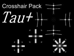 Tau+ Crosshair Pack