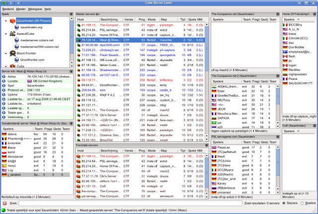 Cube Server Lister (CSL) v0.8