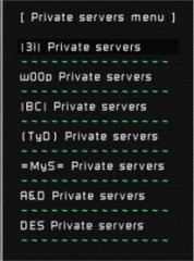 BULL3T's private server mod.