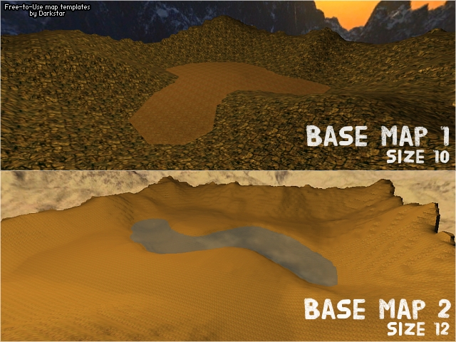 Base Maps 1 + 2 [Updated]