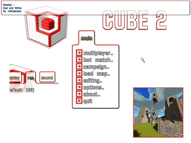 Red and White GUI