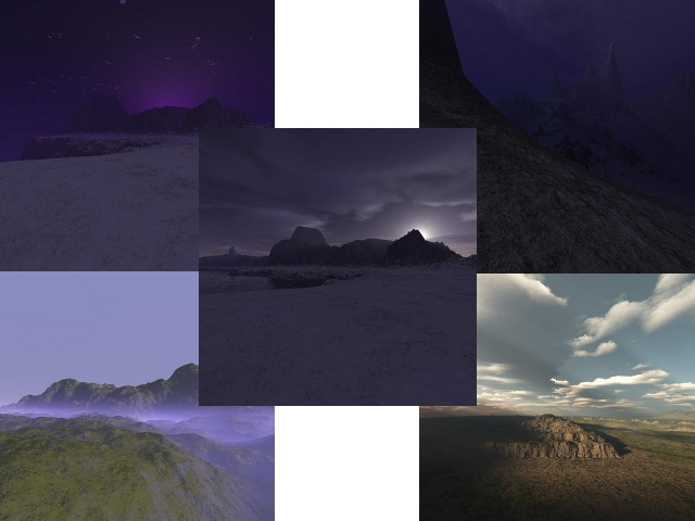 ***5 new skyboxes***