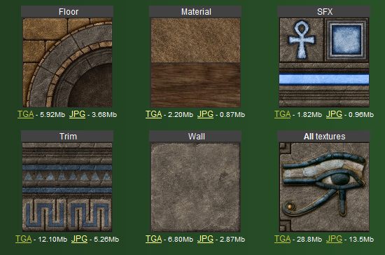 Soc's Egyptian Texture Pack