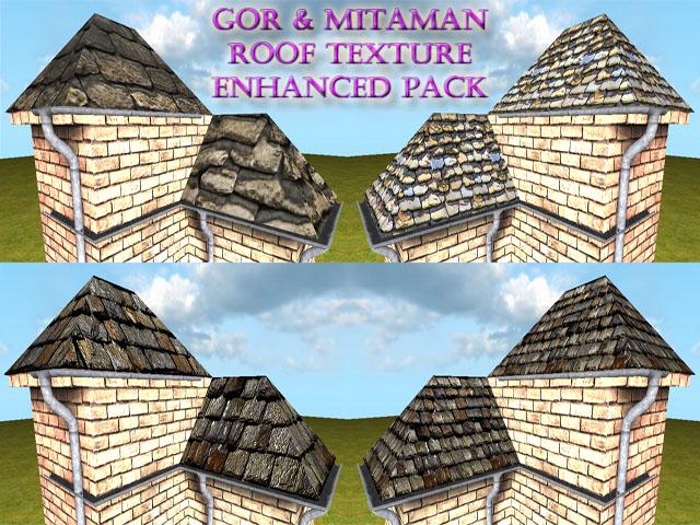 Gor & Mitaman roof texture enhanced pack