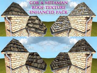 Gor & Mitaman roof texture enhanced pack