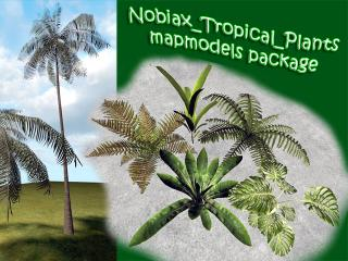 Nobiax Tropical Plants Mapmodels Package