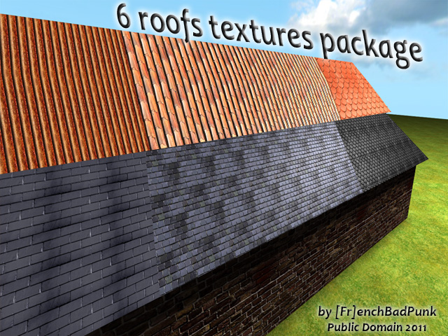 6 Roffs Textures Package