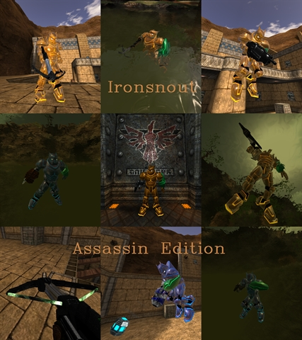 Old Ironio and weapons! Updated on 16th of July '12 with adjustable skincolouring!