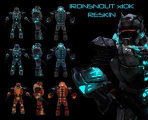 Ironsnout x10k Warzone Series Reskin