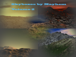 Skyboxes Volume 2