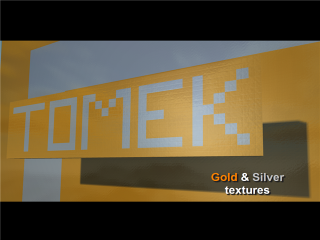 Gold & Silver texture pack