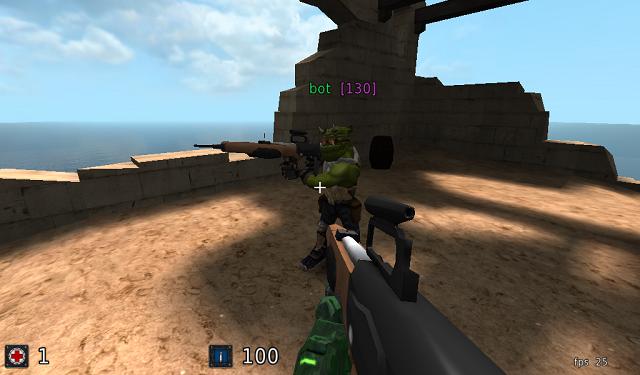 OS: Hwep and Vwep Assault-Rifle