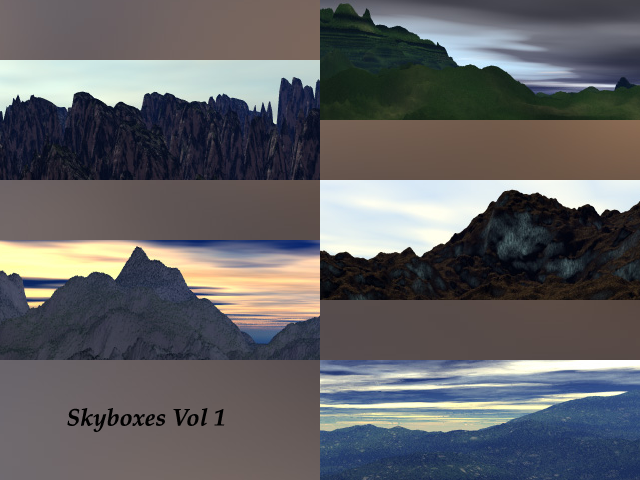 Skyboxes Vol 1