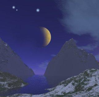 Starry Night Skybox