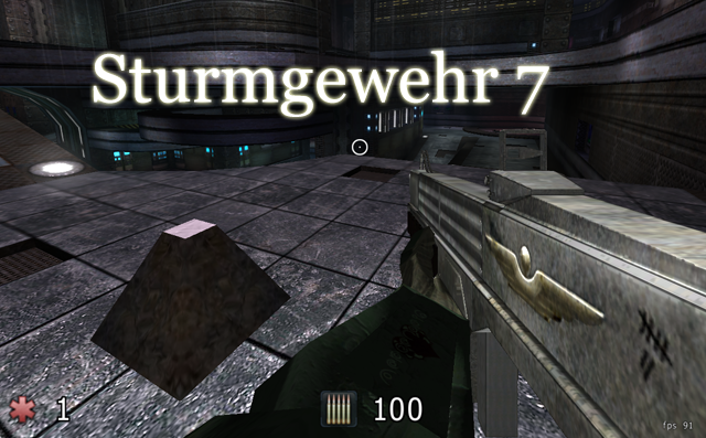 Sturmgewehr 7 - Rifle Mod