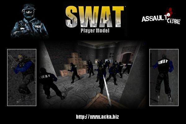 S.W.A.T  player skin
