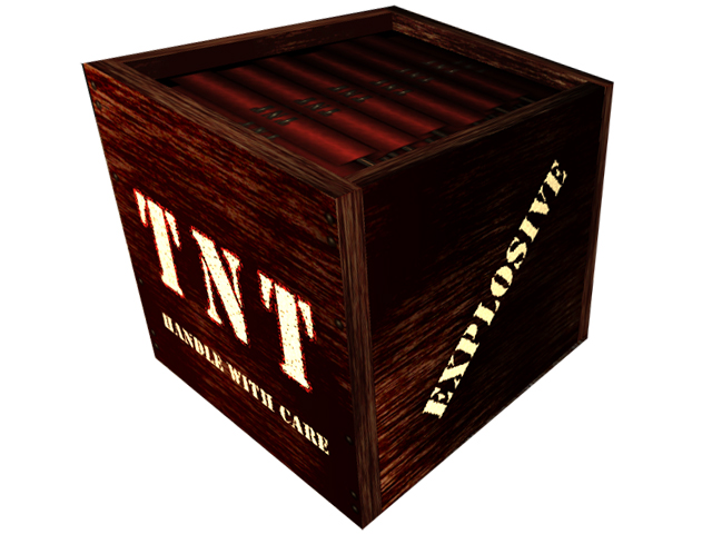 tnt box 'barrel' - something to blow up