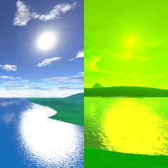 two skyboxes...