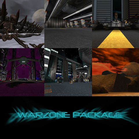 The Warzone SP Series & Multiplayer Maps Package